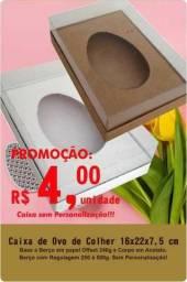 Caixa de ovo de colher 250 a 500g