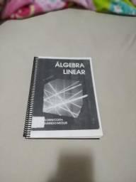 Livro impresso de Álgebra linear