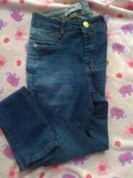 Vendo ou troco jeans cintura alta