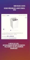 Máquina de Lavar Roupa Consul 12 kg
