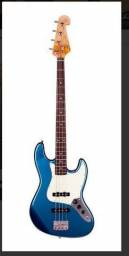 Baixo Sx Sjb62 Jazz Bass 4 Cordas Passivo Lake Pacific Blue
