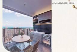 Apto 3 qts 90m² Nascente com Varanda Gourmet em Boa Viagem- Roof Top 360 - 9.8841.9885