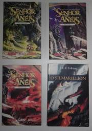 Trilogia O Senhor Dos Anéis + O Silmarillion - 4 Livros