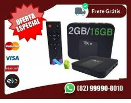 Estamos.em.promoção-Tv Box Android 4k 2gb Ram 16gb Original Wifi Wirelless