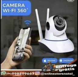 Câmera Segurança Ip Sem Fio wifi Wireless Infra Audio 1,3mp também babá eletrônica