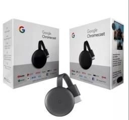 Google Chromecast 3 Hdmi Full HD Resolução 1080p Preto