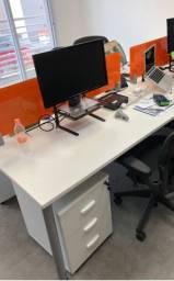 Mesa de 2 lugares escritório