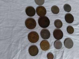 Moedas antigas e papel moedas antigas