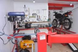 Oficina de moto em promoção