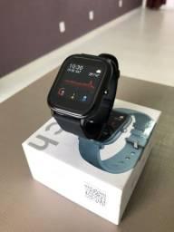 Relógio Smartwatch P8 Original Bluetooth Preto Android iOS