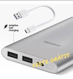 Bateria Externa Samsung Fast Charge 10000 Mah Original Usb C
