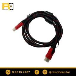 Cabo HDMI Blindado com Malha De Nylon e Filtro 1.50 Mts