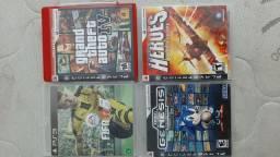 jogos PS3 (GTA 5 / Fifa 17 / Jogos Sega / Hero)