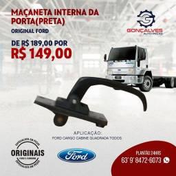 MAÇANETA INTERNA DA PORTA (PRETA)  ORIGINAL FORD