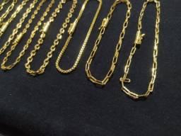 Jóias Folheadas a Ouro 100 R$