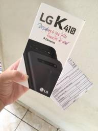 LG K41s lacrado e nota fiscal