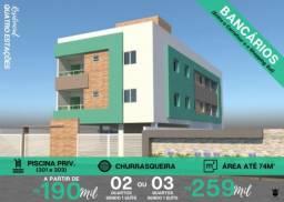 Apartamento à venda com 2 dormitórios em Bancários, João pessoa cod:008618