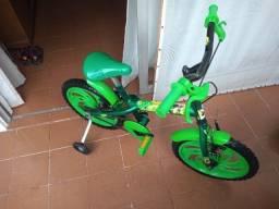 Bicicleta + patinete para crianças (usado)