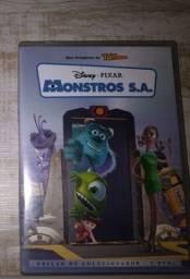 Título do anúncio: DVD de Colecionador Monstros S.A.