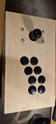 Título do anúncio: Conjunto de botões e stick sanwa originais