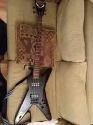 Baixo Dean Ml Metalman Bass Ativo Cbk