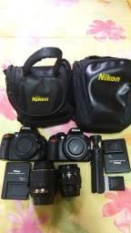 Título do anúncio: Nikon D5100 e D3100