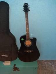 Título do anúncio: violão elétrico da giannini