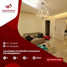 Casa Duplex Farolândia/ Loteamento Das Mangabeiras