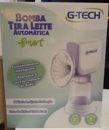 Título do anúncio: Bomba tira leite elétrica automática G-tech Blasmart Nova