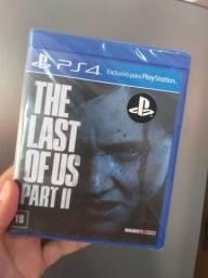 Título do anúncio: Jogo novo The last of Us part 2 Ps4. retirada Portão