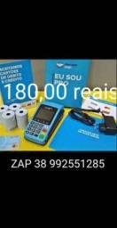 Super promoção de máquininhas d cartão d crédito e débito apenas 180,00 reais