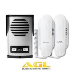 Título do anúncio: Kit Porteiro Eletrônico Coletivo AGL 2 Pontos