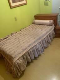 Vendo cama com bicama madeira maciça não laminado !