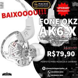 Título do anúncio: PROMOÇÃO!!!  FONES QKZ AK6-X PODEROSO!
