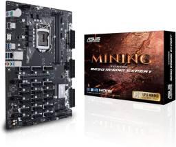 Placa-Mãe Asus B250 Mining Expert, Intel LGA 1151, ATX, DDR4