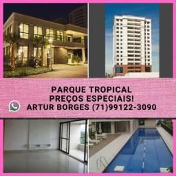 Título do anúncio: Parque Tropical 4 suítes, 155m², em patamares.