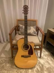 Violão Fender CD-140 SCE Nat - Promoção