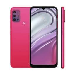Smartphone Motorola G20 Tela 6.5 64gb 4gb Ram Pink
