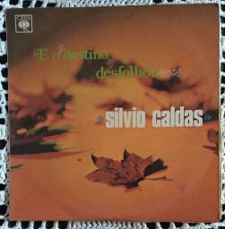 Lp Silvio Caldas E O Deztino Desfolhou 1969 disco vinil