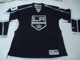 Título do anúncio: Nhl - Camisa Do Los Angeles Kings - Tam Large - Nova - Linda - Original - Importada
