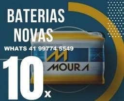 Título do anúncio: Baterias de 40ah, 50ah, 60ah, 90ah, 100ah
