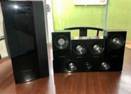 Conjunto De 6 Caixas Acústicas Home Theater Samsung Ht-c350