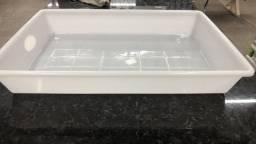 Título do anúncio: Chegou Caixa retangular plastica 17 litros para carne somente 38 reais a unidade