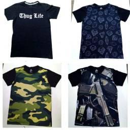 KIT 4 Camisetas Skill Head
