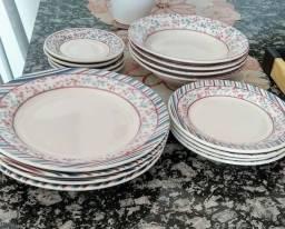 Jogo de jantar biona 20 peças (novo) R$ 160,00