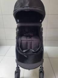 Carrinho de bebê Galzerano Olympus preto