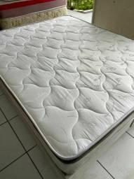 cama CASAL medida especial semi nova