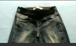 Calça jeans gestante 34/36