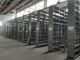 Prateleira Aço Industrial 50 X 100 X 200 C/ 6 Band Seminova