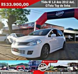 Nissan Tiida SL 1.8 Automática ANO 2012 - 2012